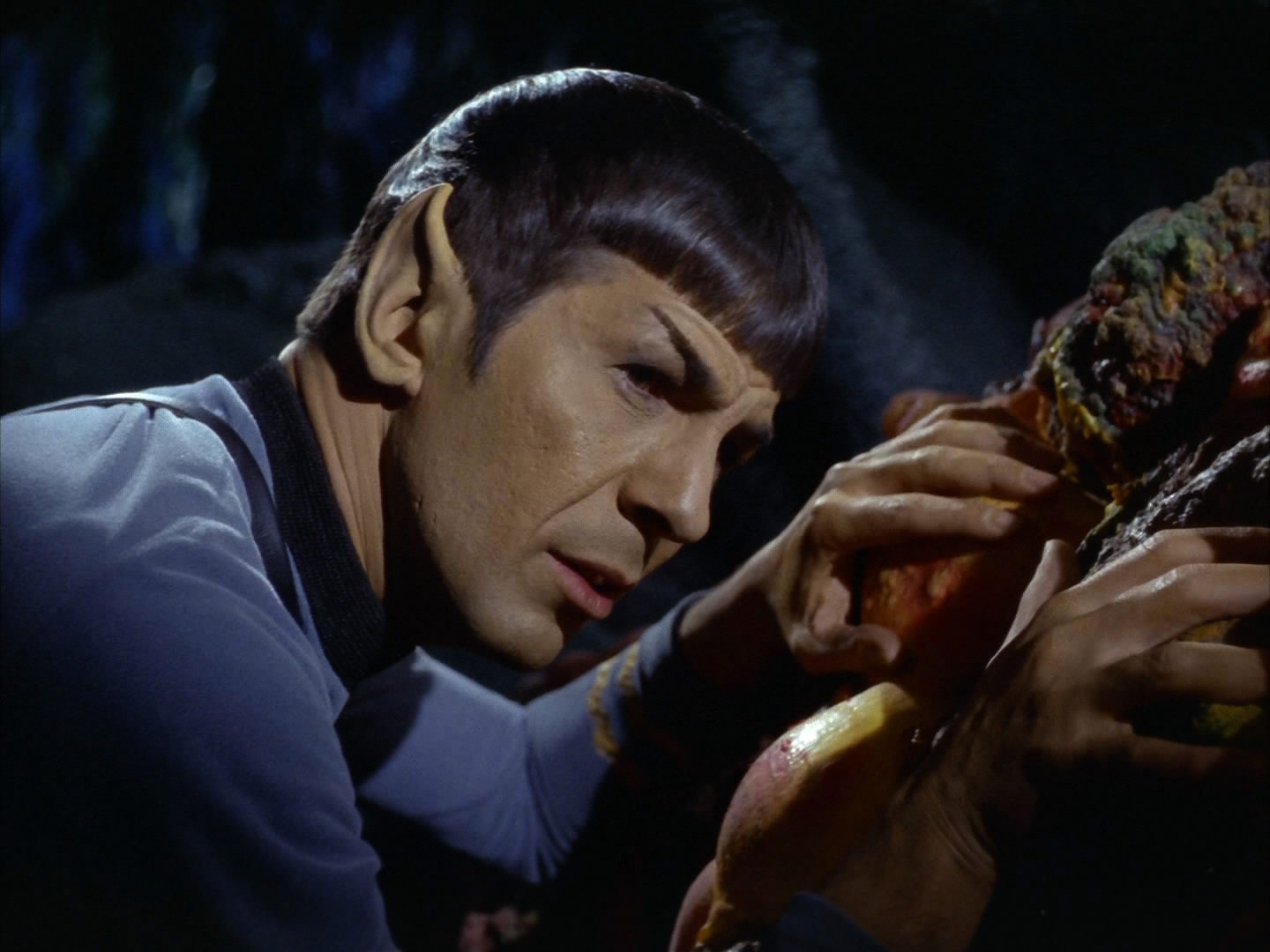 Knowledge Transfer: Mr. Spock's Secret